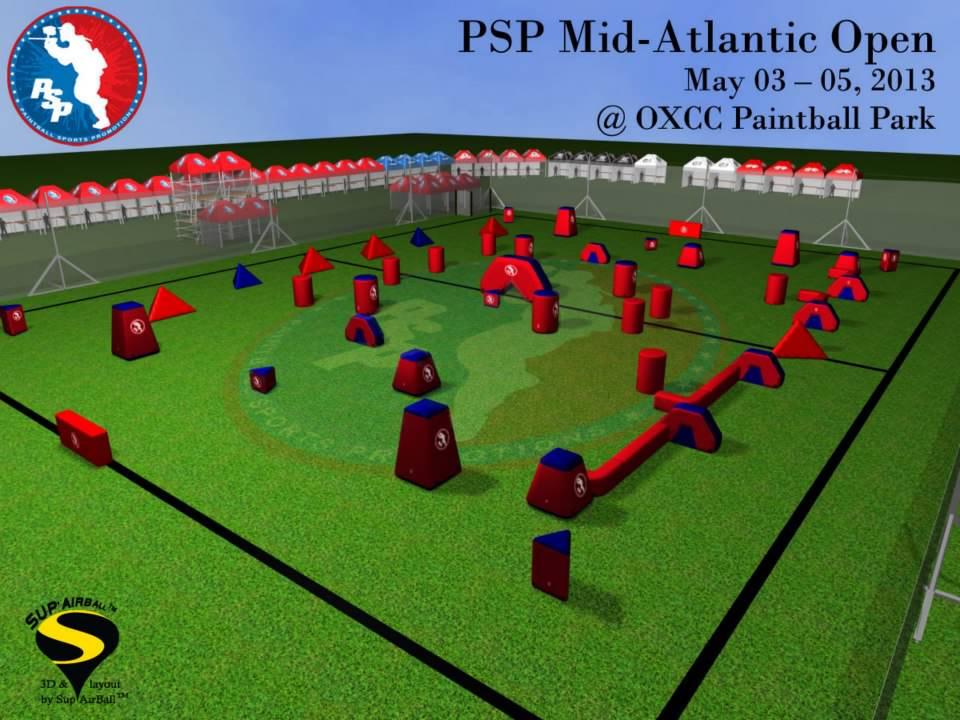 хорошо контролируется другими игроками.  Фланг...  Опубликована схема поля на PSP Mid-Atlantic Open 2013.