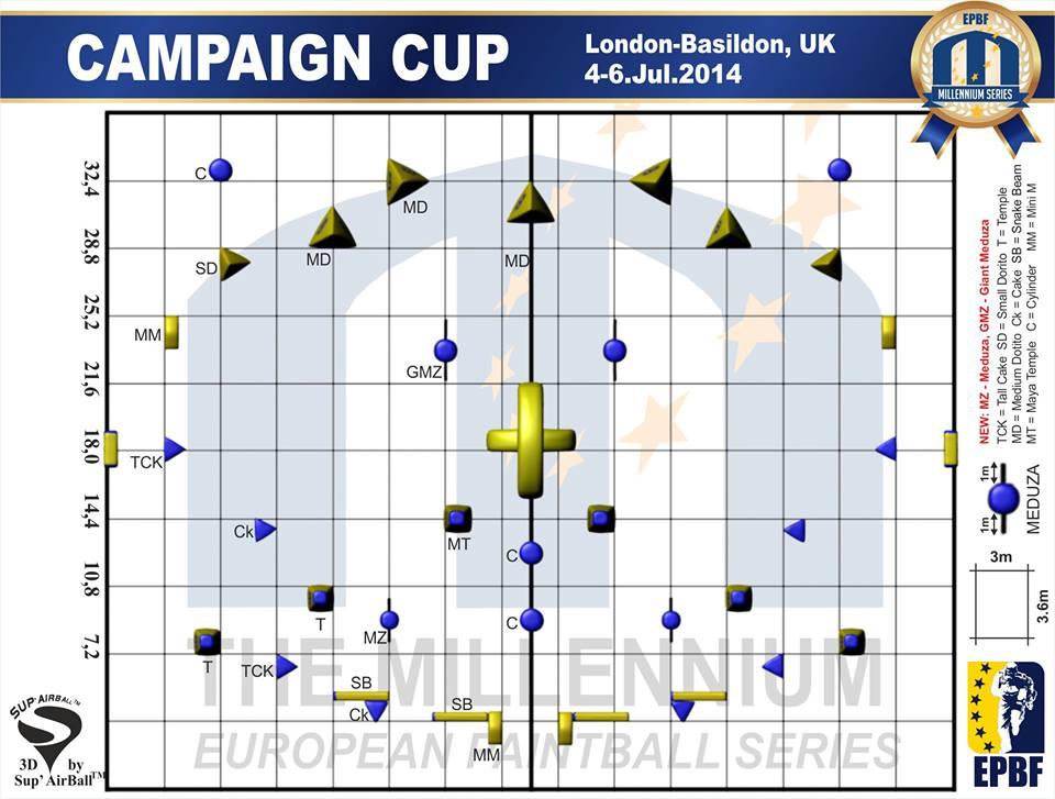 Англия - Схема поля!